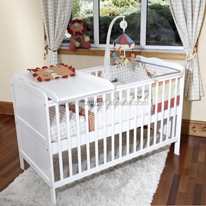 Diseño Convertible Madera Cama Individual Cama/bebé - Buy Cuna,Cuna ...