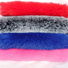 new product real rex rabbit fur dyed or white color fur China supplier