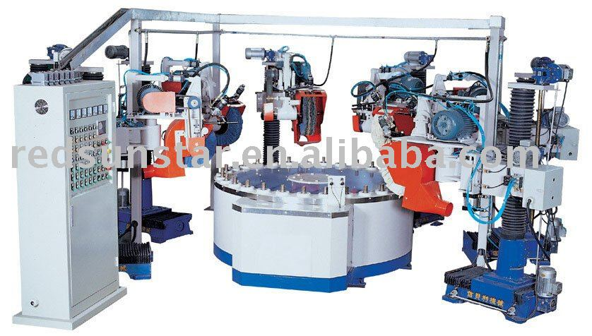 Automatic Rotary Polishing Machine For Metal