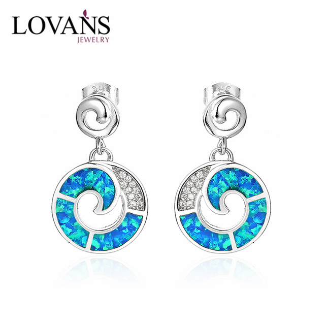 New Arrival 925 Silver Earrings Make Your Own Online Opal Stock Jewelry Sei104w