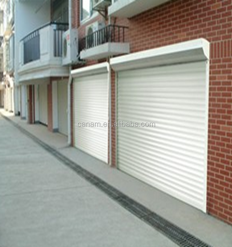 aluminum/steel rolling up door/roller shutter factory price in Shandong