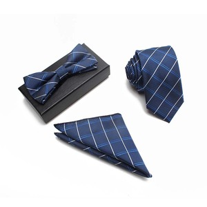 Colourful Fly Butterfly Bowtie And Necktie And Hanky Set To Match Customized Bow Ties Suits