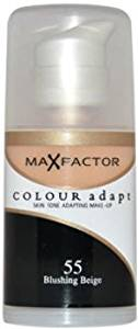 Women Max Factor Colour Adapt Skin Tone Adapting Makeup - # 55 Blushing Beige Make Up 34 ml 1 pcs sku# 1759921MA