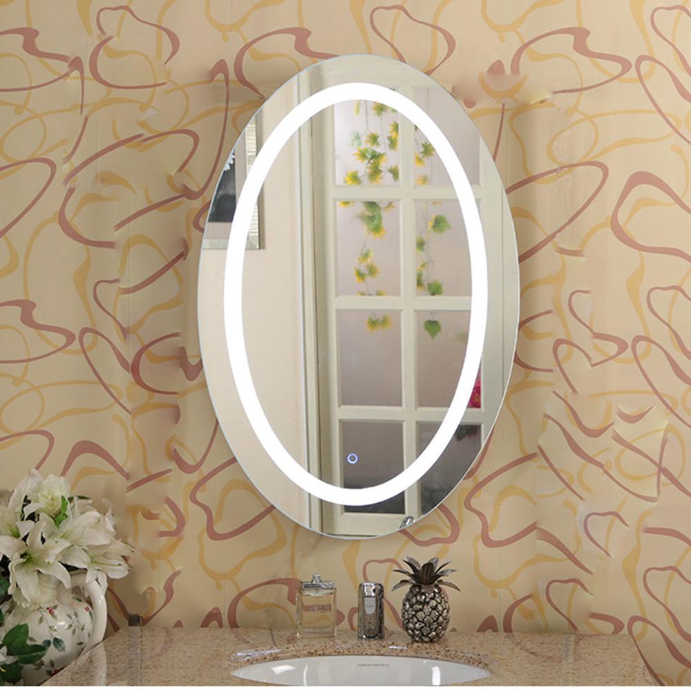 ip66 tanche ovale led salle de bain miroir lumineux mirroir de salle de bain id de produit. Black Bedroom Furniture Sets. Home Design Ideas