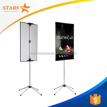 Top Quality Outdoor Poster Stand , Poster Board Stands Display Stand