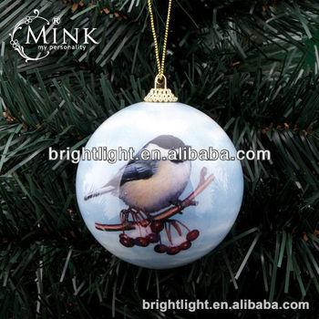 Bird Styrofoam Ball Christmas Ornaments - Buy Christmas Ornament ...