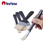5 Pcs Large Bristle Flat paint Brushes for Acrylic Oil Painting and Craft