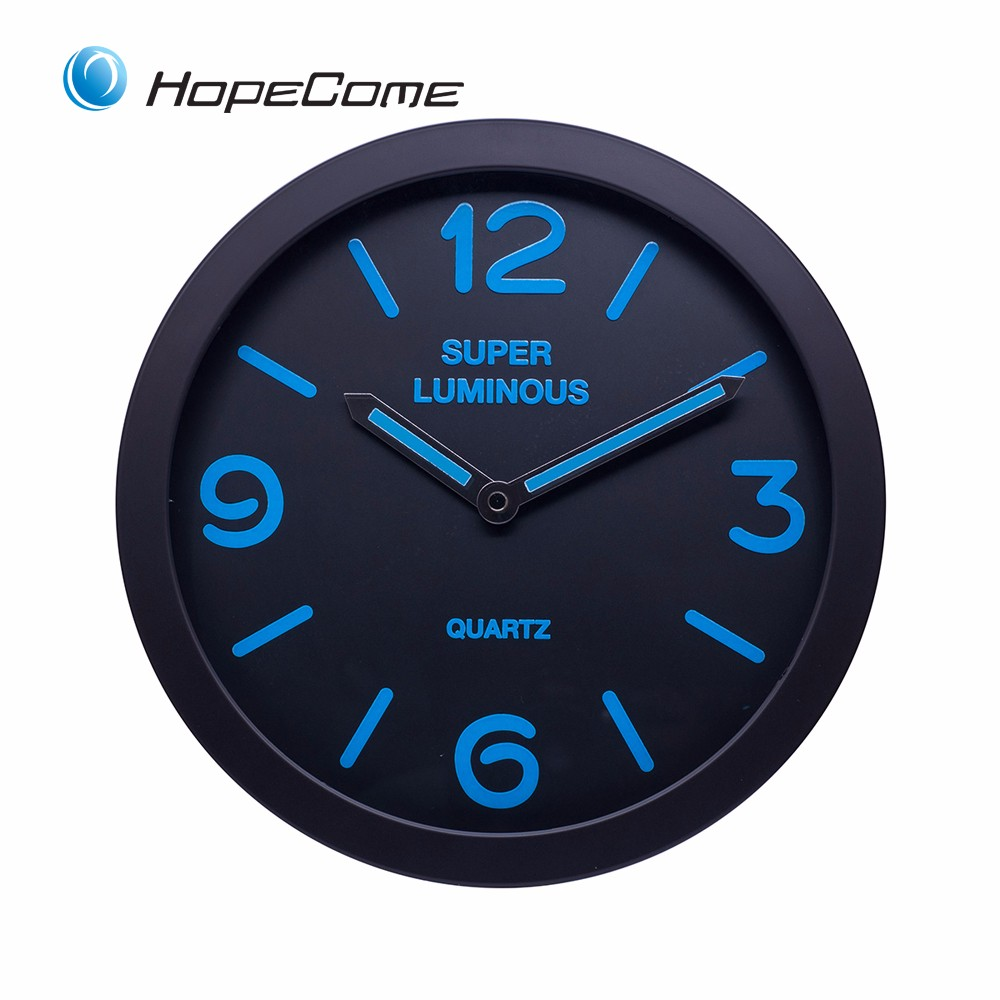 Glow in the dark wall clock buy glow in the dark clockglow in glow in the dark wall clock amipublicfo Images