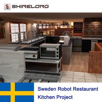 Svezia Robot Progetto Cucina Ristorante - Buy Commerciale ...