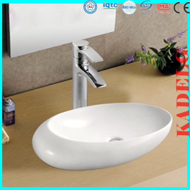 Unique Oval Shape Ceramic Bathroom Sink Lowes