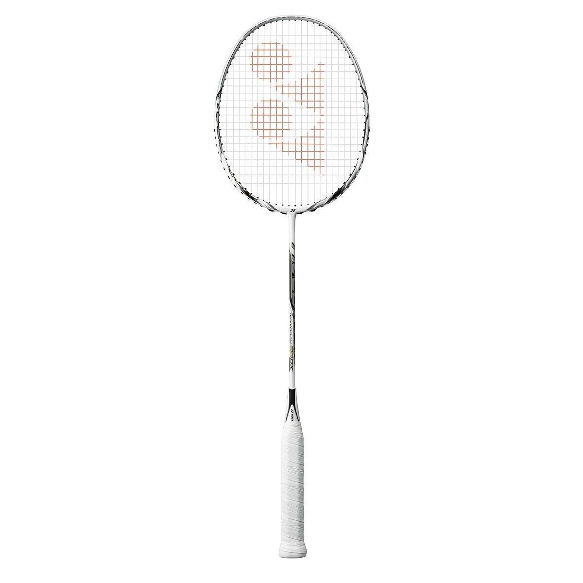 Yonex NanoRay 90 DX Badminton Racquet (4U,G5) - White/Silver