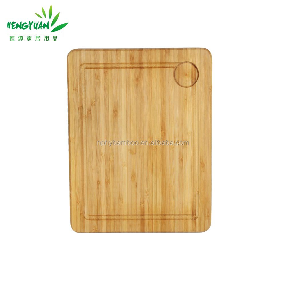 Best selling bamboo wood cutting board with grooves