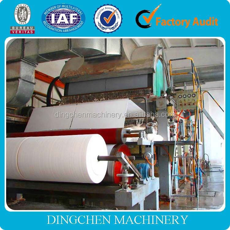 hot sale! high speed 1880 toilet paper machine with good quality and low price