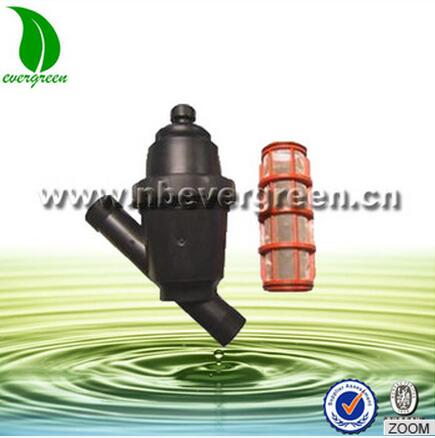 1.5 inch 120 mesh plastic screen irrigation filter for drip irrigation