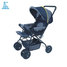 6 Plastic Wheels Oxford fabric material baby stroller cover