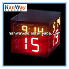 single color outdoor led video displays basketball scoreboards