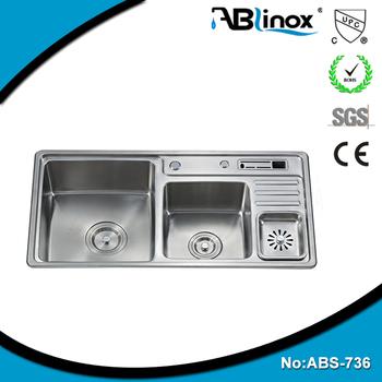 Double Bowls Kitchen Sink Mat Finish