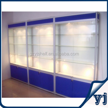 Wall Showcase Design Wall Mount Glass Display Cabinets,Glass ...