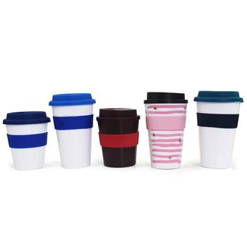 Reusable coffee cup custom , reusable coffee cup with lid