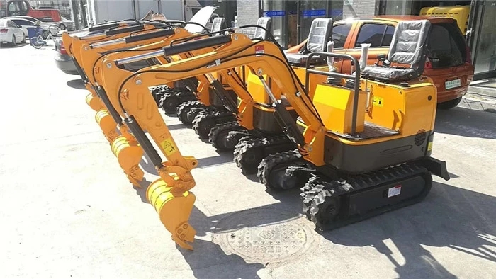 Factory price small farm use 1 ton mini crawler excavator