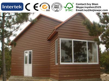 Non Crack Exterior Wall Cladding WPC Products Water Proof For Wooden House  Anti UV