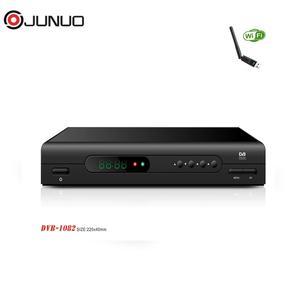 2018 JUNUO IPTV receiver digital satellite china no dish