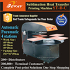 4 stations Pneumatic Automatic hot heat transfer dye sublimation printer