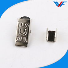 Hot sale office metal bulldog badge clip