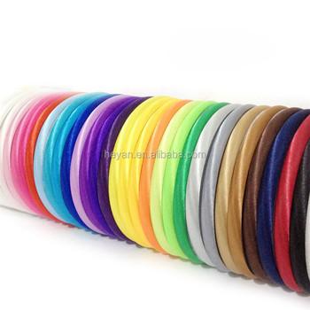 Cheap Sale Satin Covered Plastic Headbands In Bulk - Buy Hard ... 51f7040964c