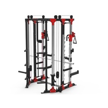 Nieuwe Ontwerp Fitness Apparatuur Multi Functionele Trainer/Multifunctionele <span class=keywords><strong>Smith</strong></span> <span class=keywords><strong>Machine</strong></span> Bodybuilding Sterkte <span class=keywords><strong>Machine</strong></span>