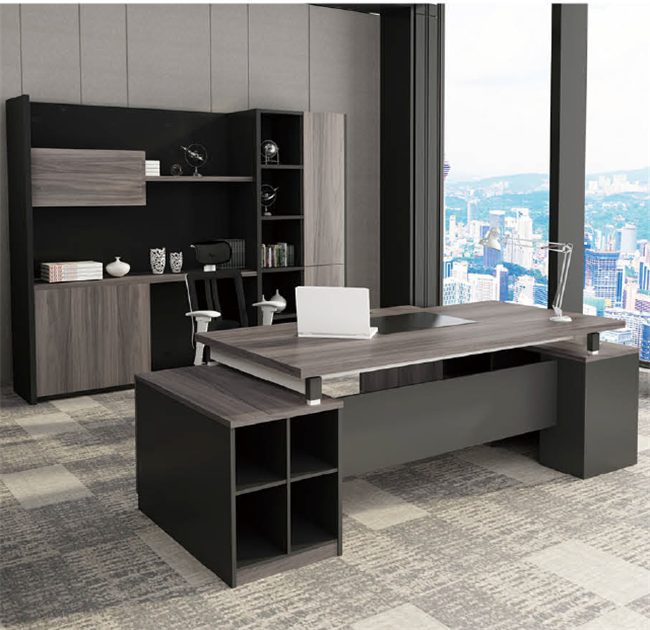 China Factory L Shaped Commercial Office Desk Chairman