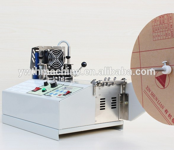 Automatic Small Fabric Ribbon Tape Roll Cutter(Hot & Cold)