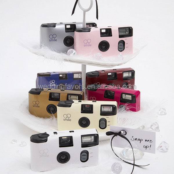 couleur unie appareils photo jetables pour les mariages beaucoup de couleurs - Appareil Photo Jetable Mariage Pas Cher