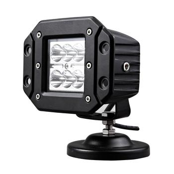 factory wholesale 12v 24v 3inch 18w flush mount led work light for