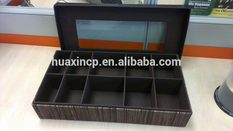 Custom Tie Storage Box Bow Packaging For