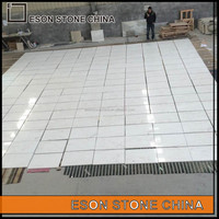Eson Stone Volakas white New Quarry Marble tiles for inner floor and wall