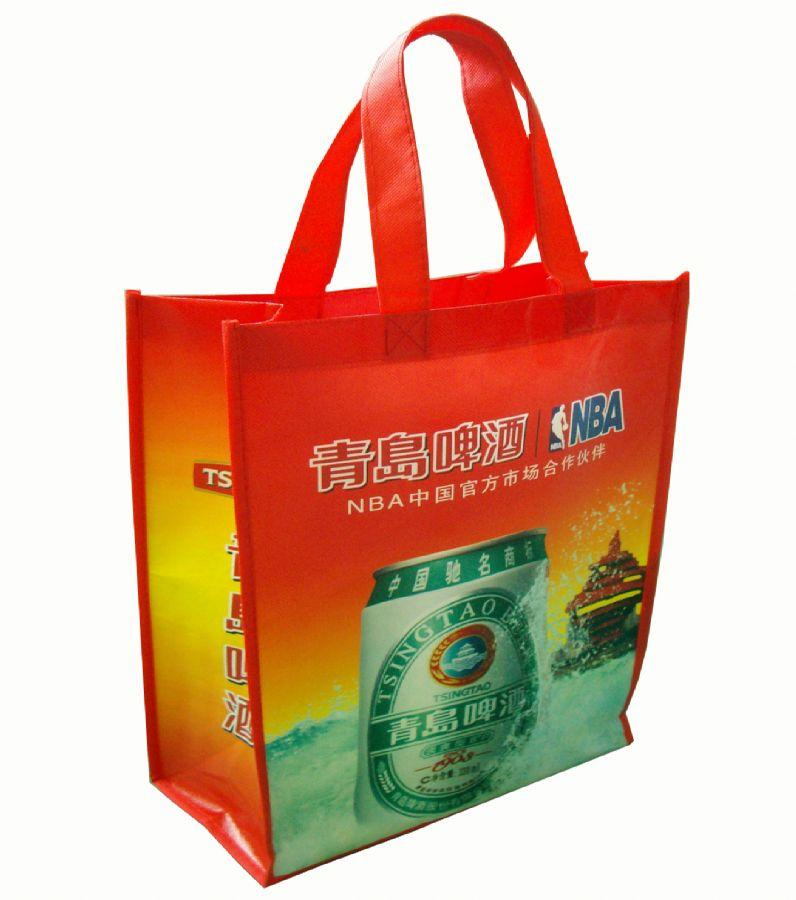 small order accepted ,CMYK colors logo printing opp nonwoven laminated shopping bag,waterproof <strong>eco</strong> tote bag