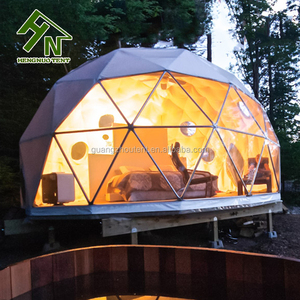 Guangzhou Popular Outdoor Prefabricated Dome Houses For Sale