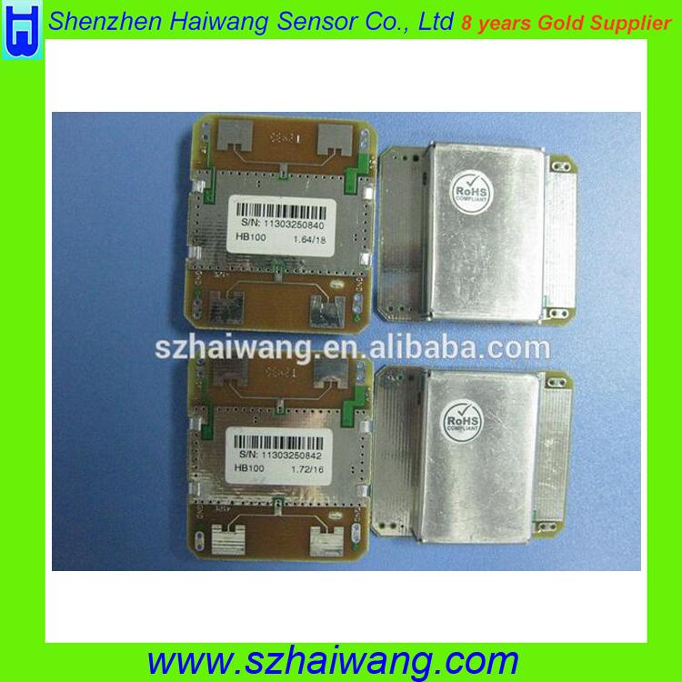10.525GHz Receivers Doppler Module Wireless Radar Motion Detector HB100 Sensor