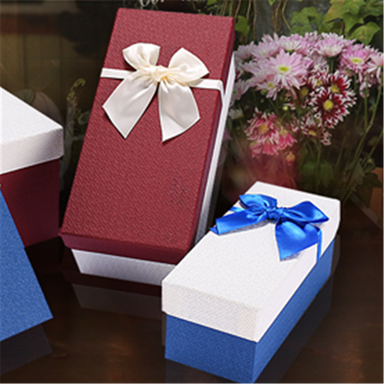 Factory price large gift box custom printing vase packing box