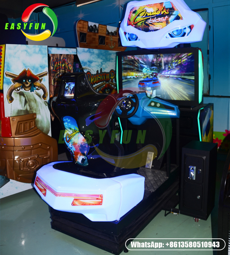 Luxury Dynamic storm racing arcade car Cruis'n Blast racing game machine for one player