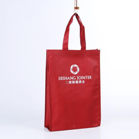 custom printing pp nonwoven tote bag, eco supermaket promotional shopping bag
