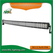 288w 50 inch Curved Light bar led super bright good quality longer lifespan IP68 Waterproof Apply to offroad and cars