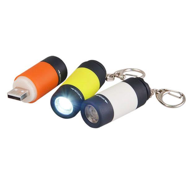 Usb Rechargeable Led Lumiere Porte Cles Etanche Mini Lampe De Poche