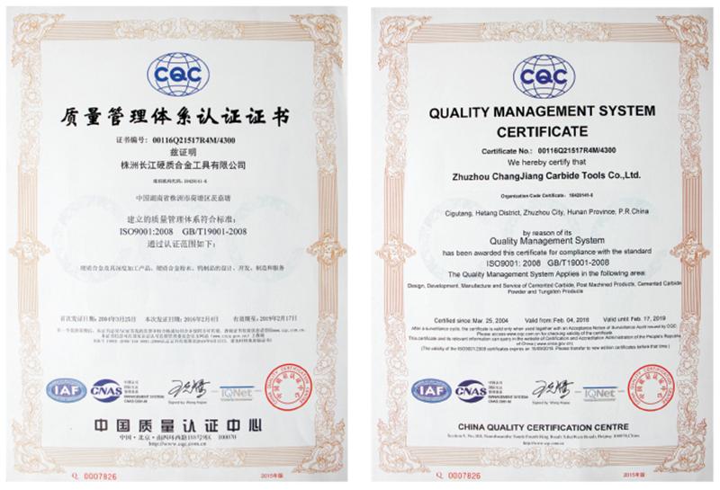 YL10.2 Solide Hartmetall Stangen für Fräser und Bohrer mit Hoher Qualität