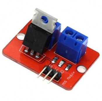 Smart Electronics 0-24V Top Mosfet Button IRF520 MOS Driver Module for MCU ARM Pi for DIY Kit