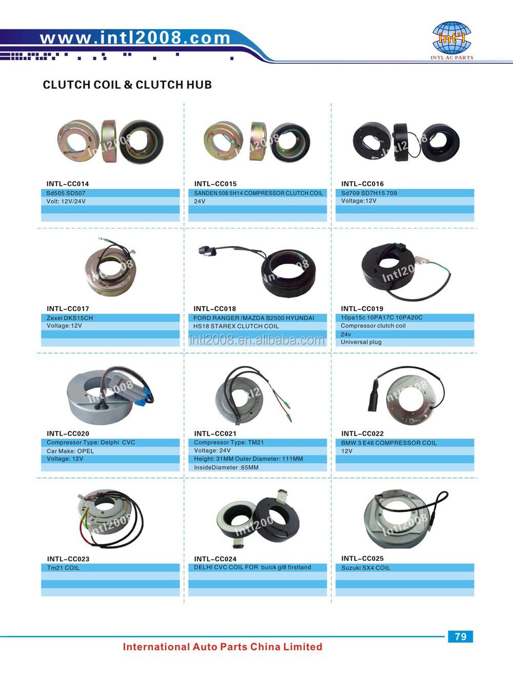 12v Denso 10s13c 10s13 Toyota Ac Compressor Clutch Coil 87x59 ...