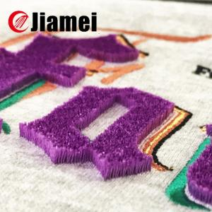New design Gothic style embroidery speical embroidery patch flocking embroidery
