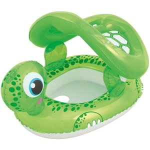 Bestway inflatable baby seat Floating Turtle Baby Care Seat water float