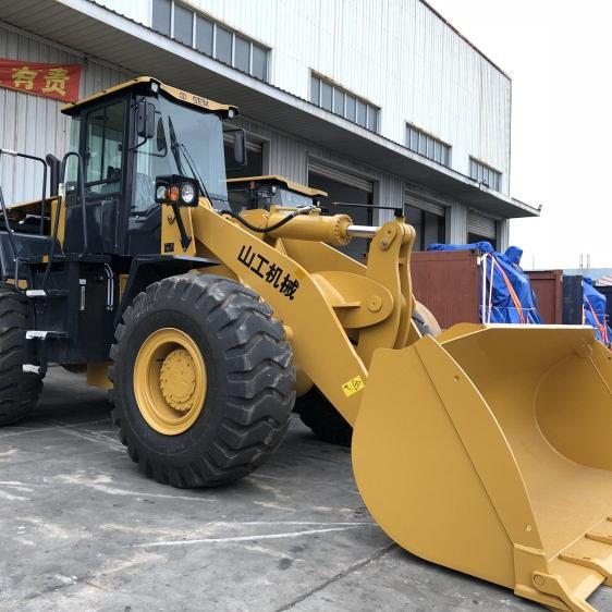 Famous brand SEM655D 5000kg capacity wheel loader 3t